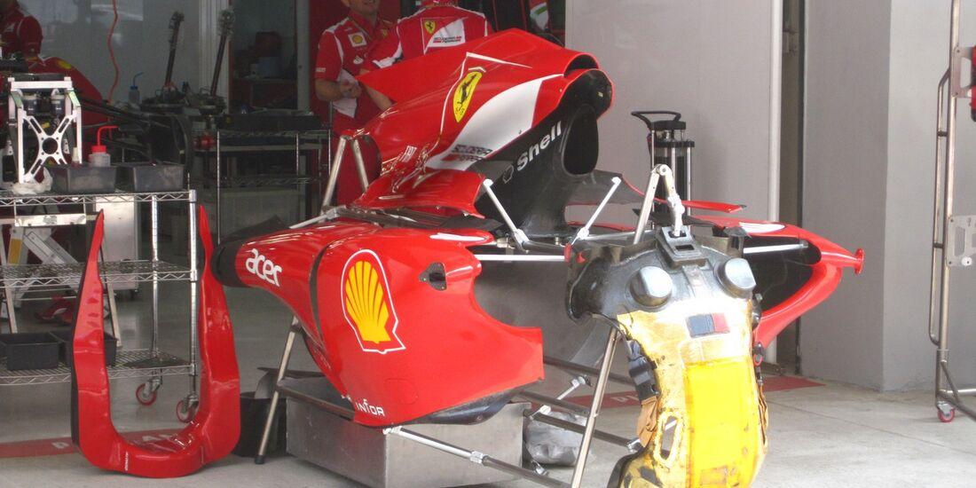 Ferrari  - Formel 1 - GP Indien - 25. Oktober 2012