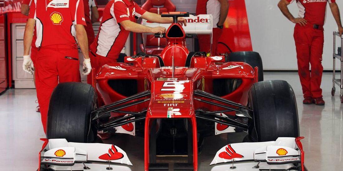 Ferrari - Formel 1 - GP Indien - 26. Oktober 2012