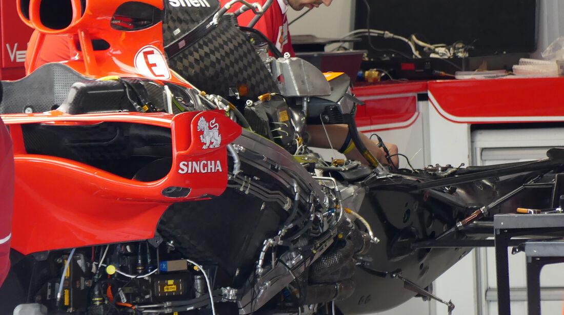 Ferrari - Formel 1 - GP Japan - Suzuka - 5. Oktober 2017