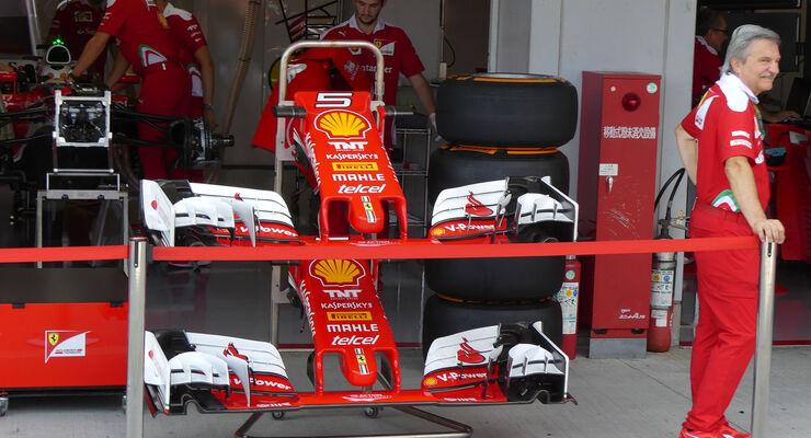Ferrari - Formel 1 - GP Japan - Suzuka - Donnerstag - 6.10.2016
