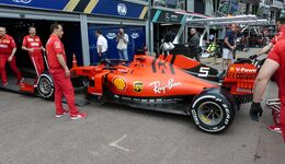 Ferrari - Formel 1 - GP Monaco - 22. Mai 2019