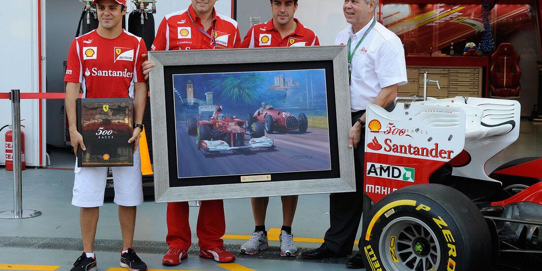 Ferrari - Formel 1 - GP Singapur - 22. September 2012