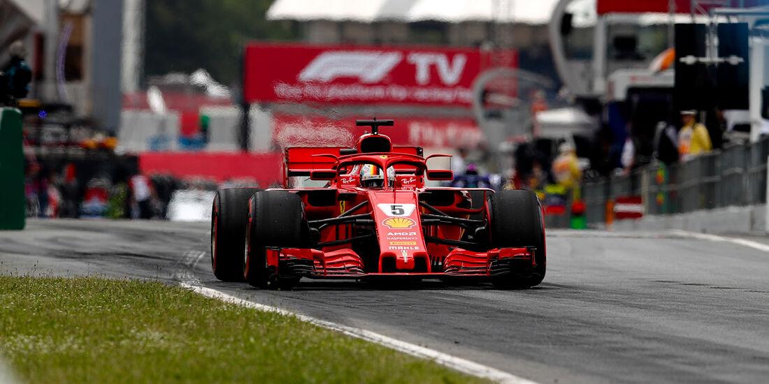 Ferrari - Formel 1 - GP Spanien 2018