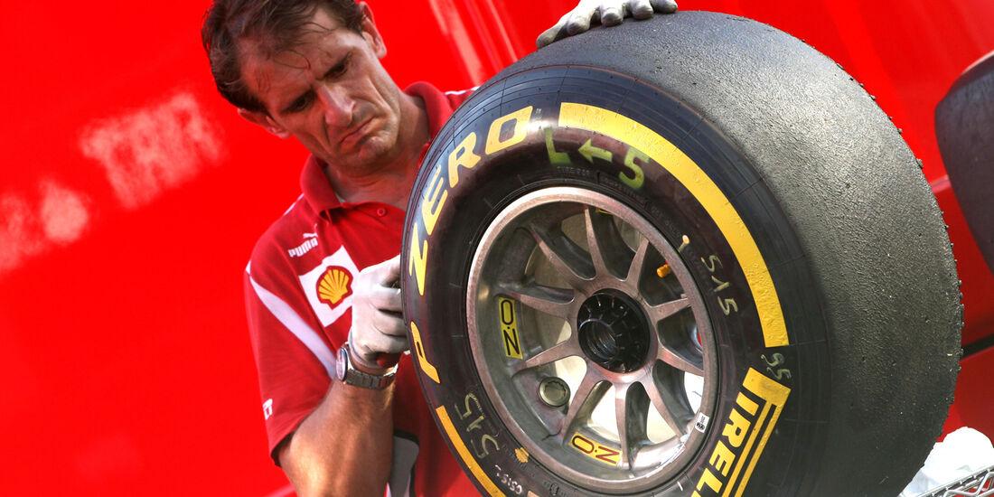 Ferrari - Formel 1 - GP Ungarn - Budapest - 28. Juli 2012