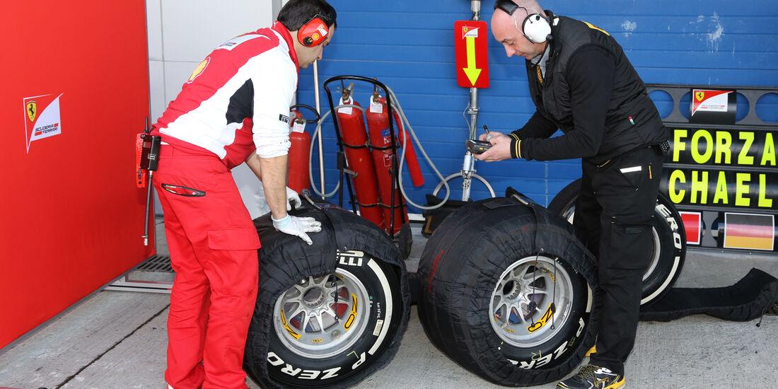 Ferrari - Formel 1 - Jerez - Test - 29. Januar 2014