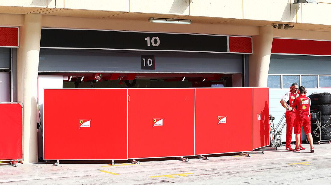 Ferrari - Formel 1 - Test - Bahrain - 27. Februar 2014