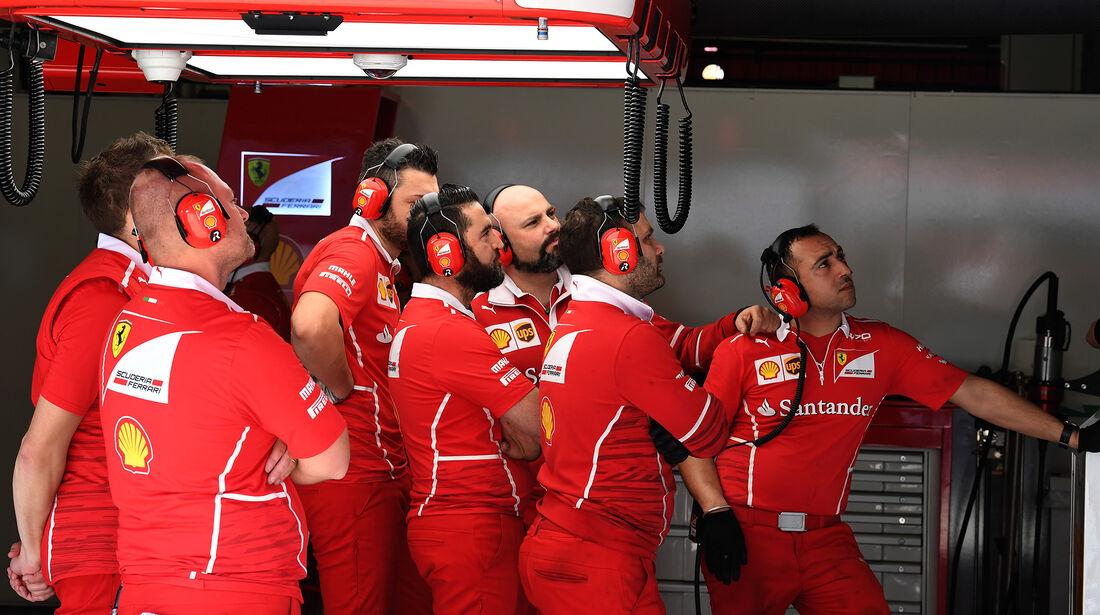 Ferrari - Formel 1 - Test - Barcelona - 10. März 2017