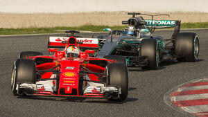 Ferrari - Formel 1 - Test - Barcelona - 2017