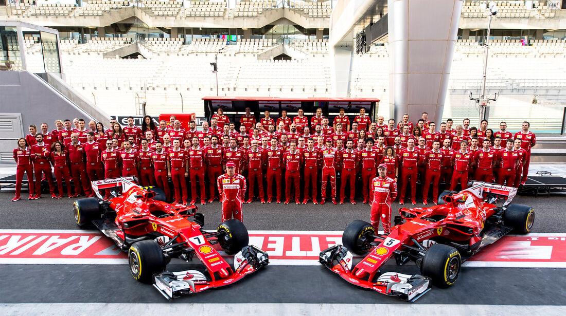 Ferrari - GP Abu Dhabi 2017