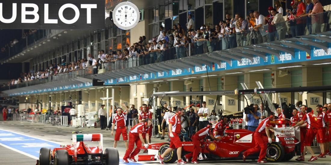 Ferrari - GP Abu Dhabi - Qualifying - 12.11.2011