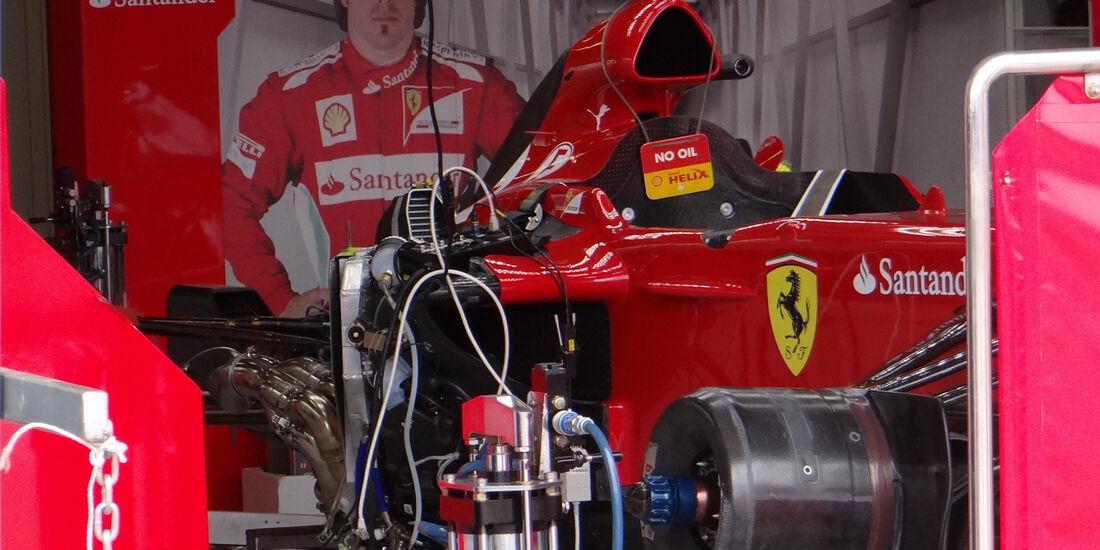 Ferrari - GP Australien - 14. März 2012