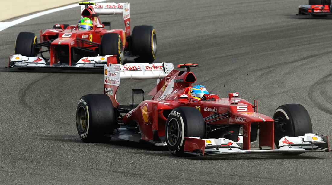 Ferrari GP Bahrain 2012