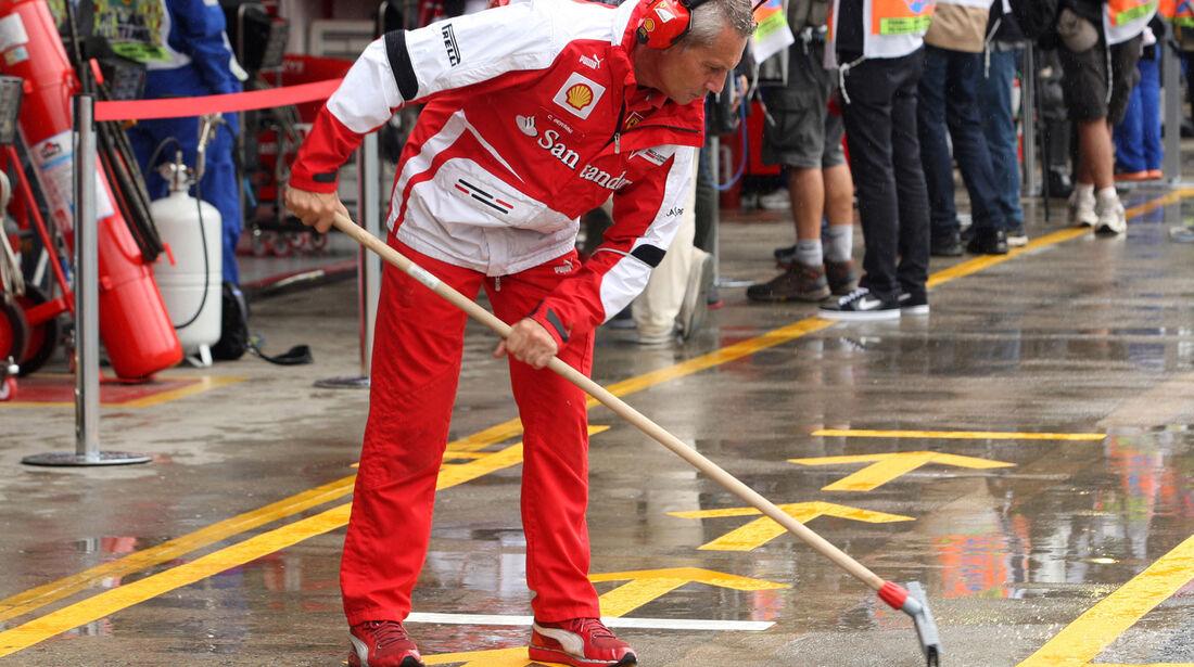 Ferrari - GP Brasilien - 23. November 2013