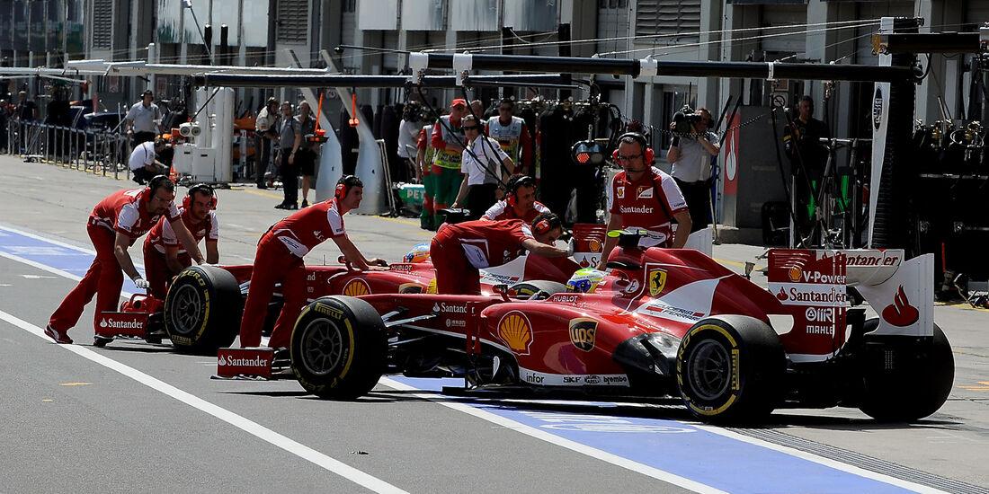 Ferrari - GP Deutschland 2013