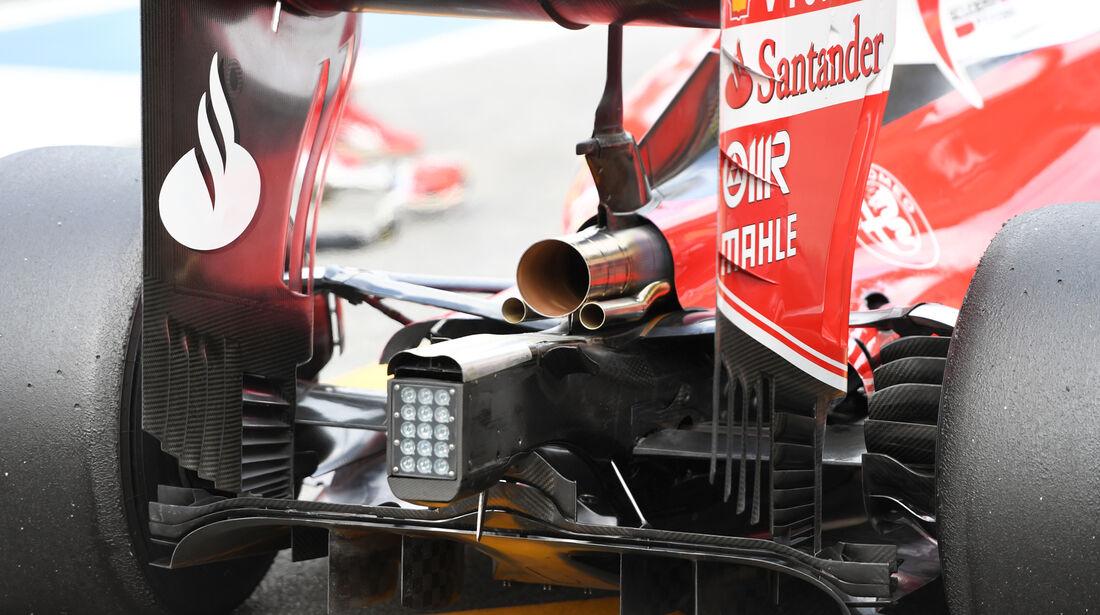 Ferrari - GP Deutschland - Formel 1 - 29. Juli 2016