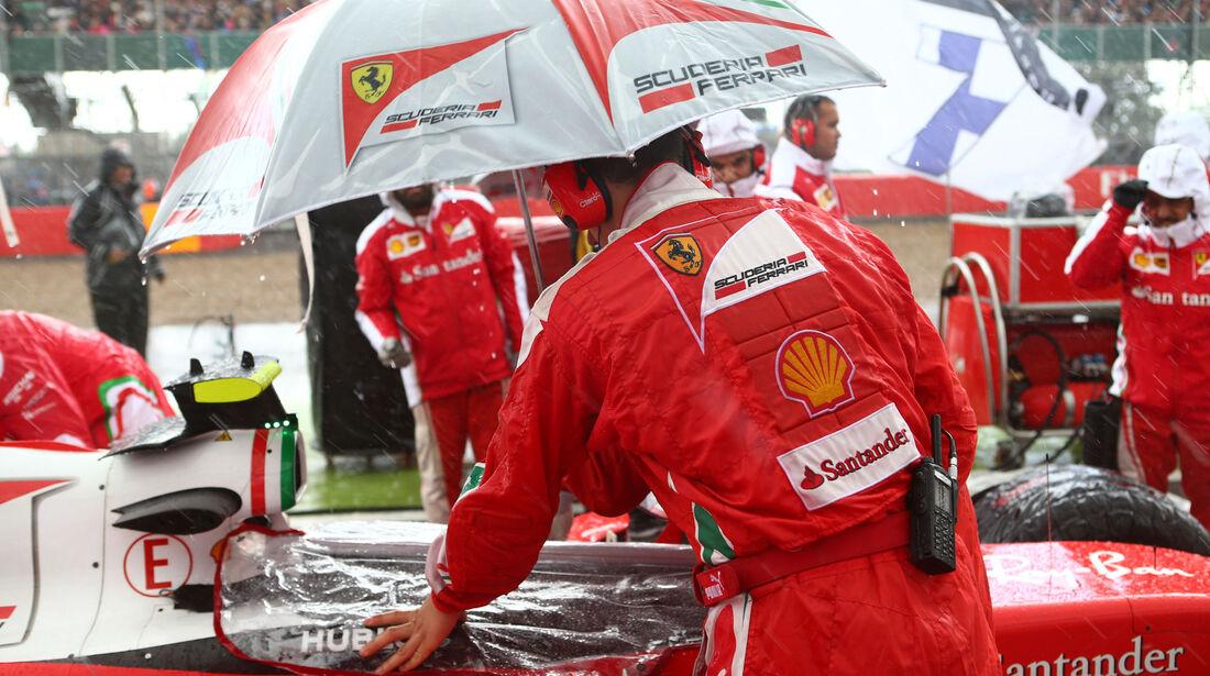 Ferrari - GP England 2016 - Silverstone - Rennen