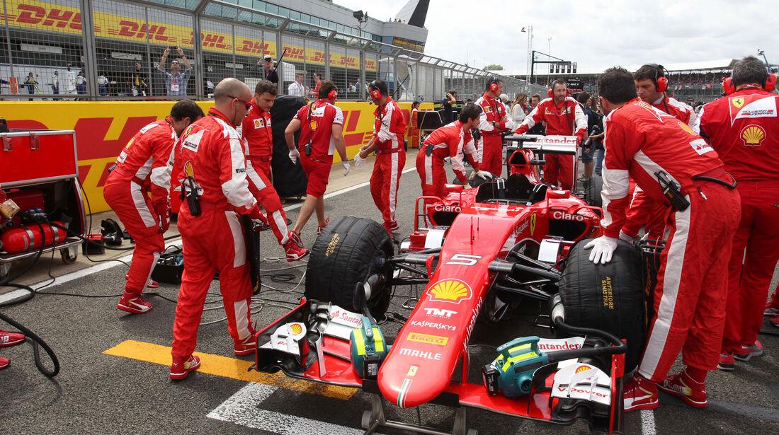 Ferrari - GP England - Silverstone - Rennen - Sonntag - 5.7.2015