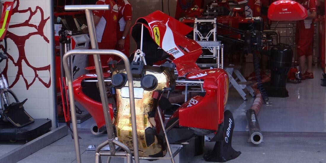 Ferrari - GP Europa - Valencia - 21. Juni 2012