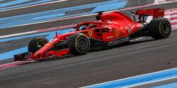 Ferrari - GP Frankreich 2018