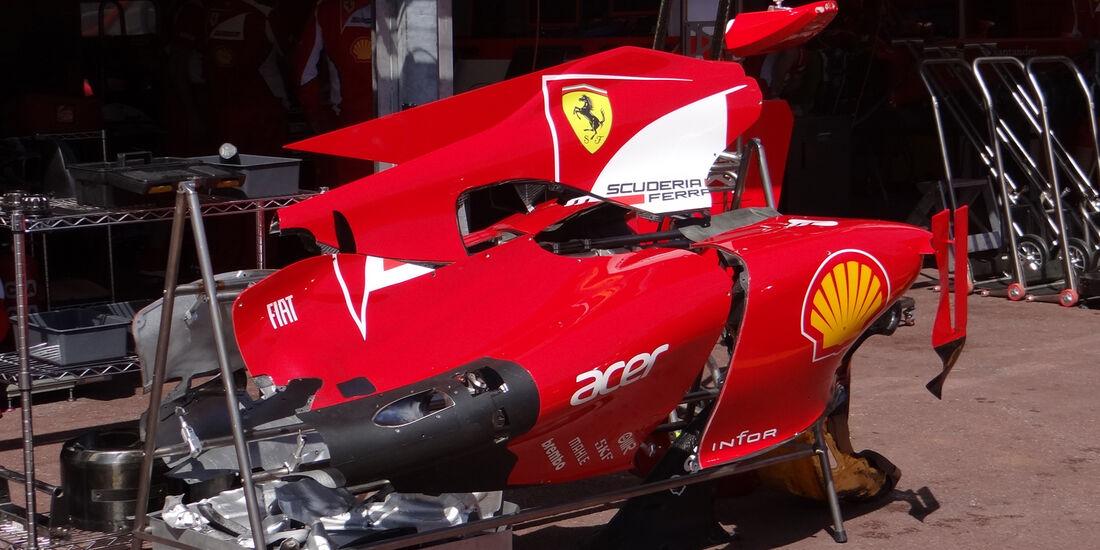 Ferrari - GP Monaco - 23. Mai 2012