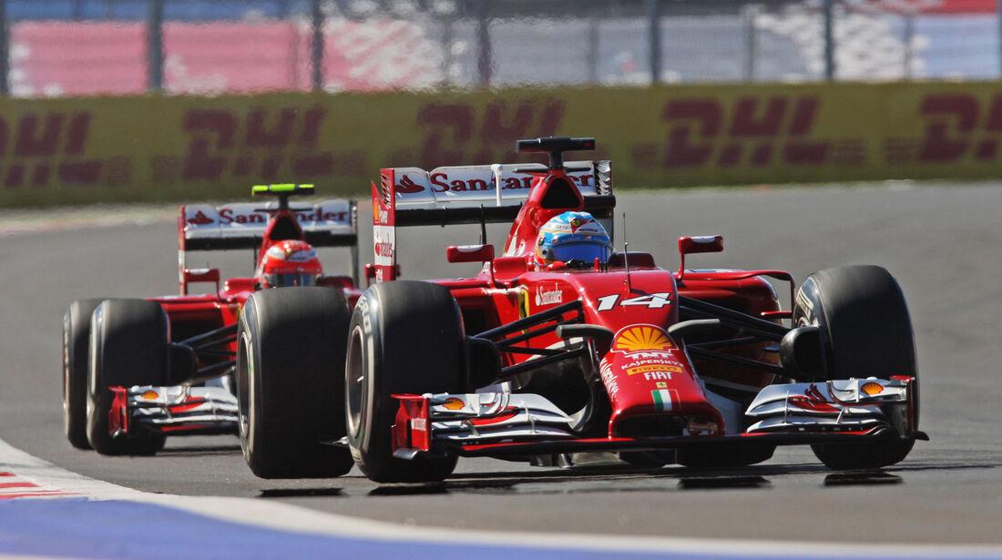 Ferrari - GP Russland 2014