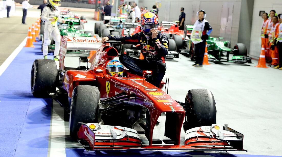 Ferrari - GP Singapur 2013