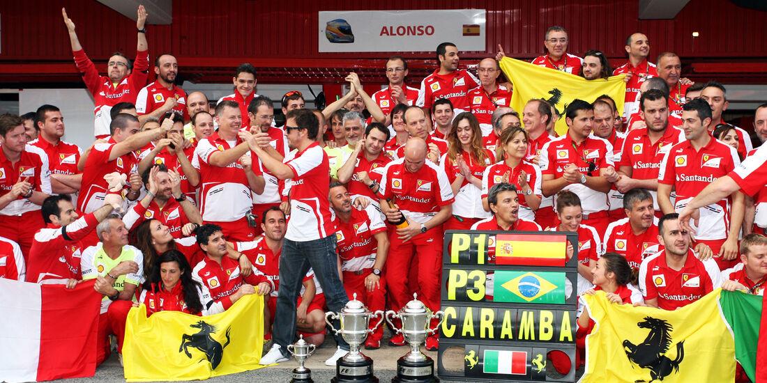 Ferrari GP Spanien 2013