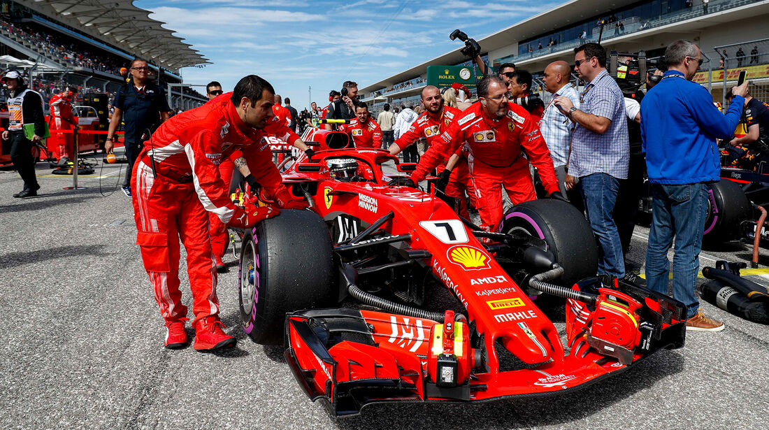 Ferrari - GP USA 2018