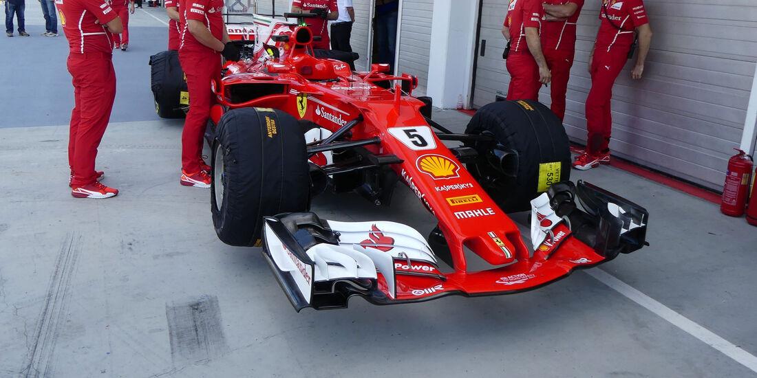 Ferrari - GP Ungarn - Budapest - Formel 1 - 28.7.2017