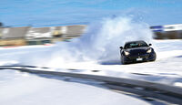 Ferrari GTC4 Lusso, Frontansicht, Driften