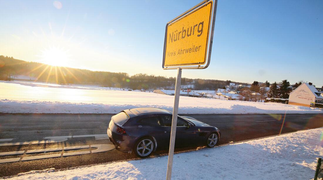 Ferrari GTC4 Lusso, Nürburg