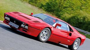 Ferrari GTO, Seitenansicht