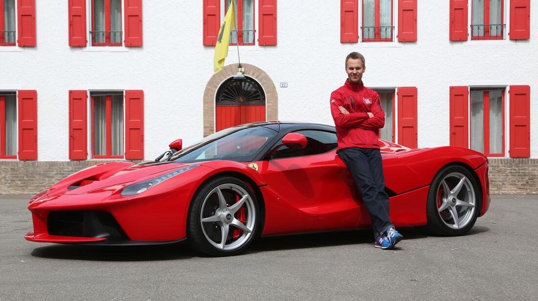 Ferrari LaFerrari, Seitenansicht, Christian Gebhardt