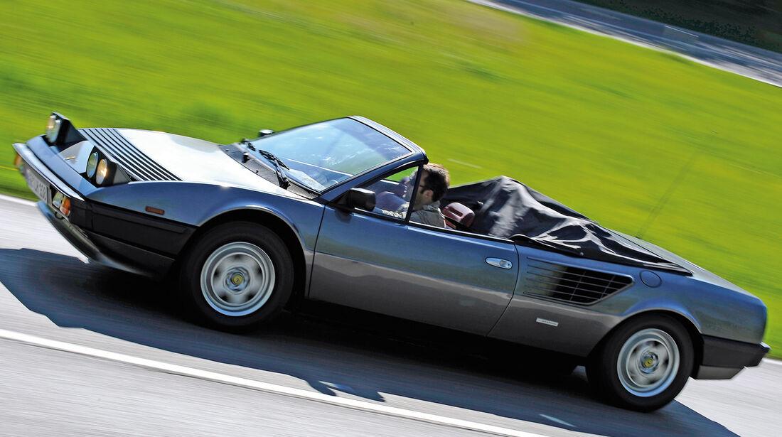 Ferrari Mondial QV Cabrio, Seitenansicht