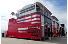 Ferrari - Motorhomes - GP England 2014