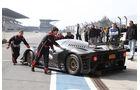 Ferrari P4/5 Competizione, Boxengasse