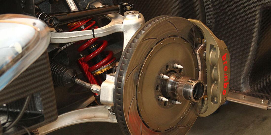 Ferrari P4/5 Competizione, Detail