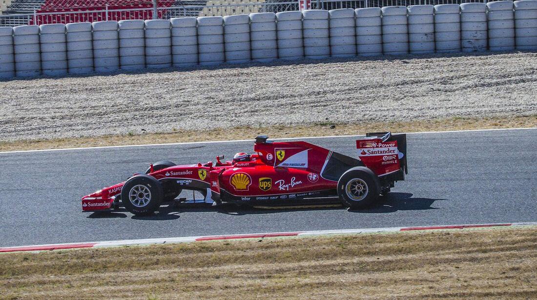 Ferrari - Pirelli 2017 Reifen-Test - Paul Ricard - 2016