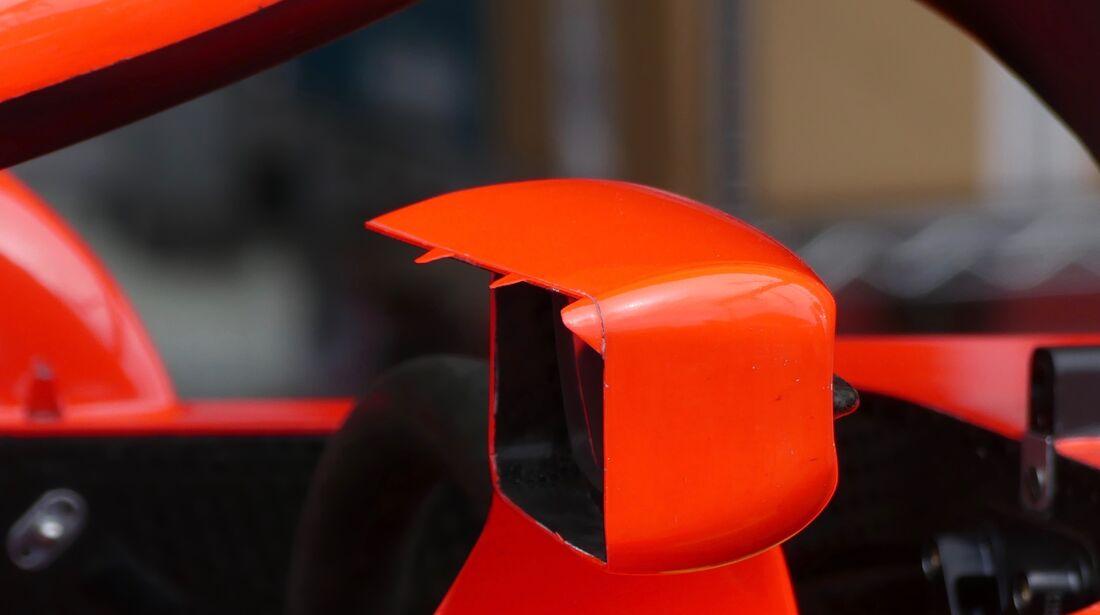 Ferrari Rückspiegel - Formel 1 - GP Aserbaidschan - 28. April 2018