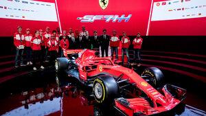 Ferrari SF71H - Vorstellung - Maranello - F1