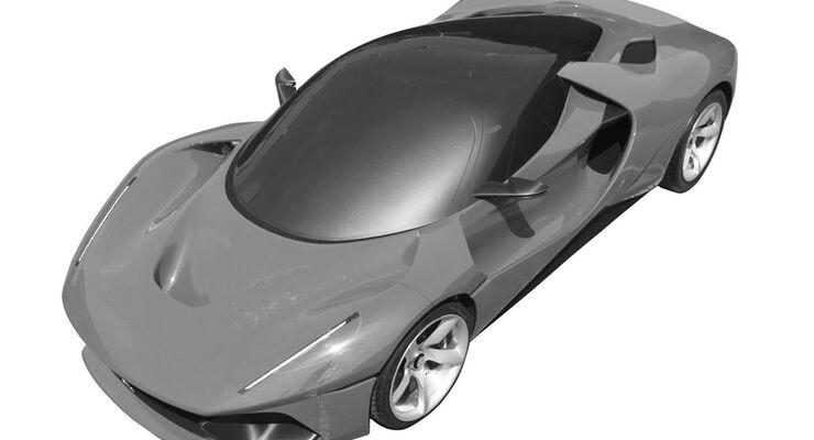 Ferrari SP Patent