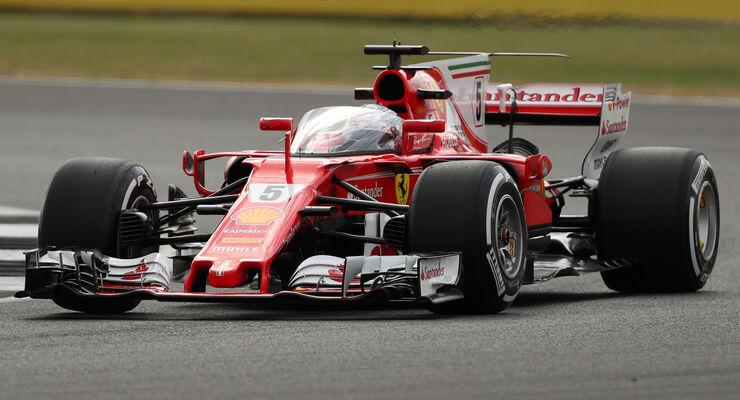 Vettel fährt Shield-Cockpitschutz: Die Bilder vom ersten Test - auto ...