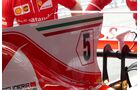 Ferrari - Startnummern - Formel 1 - GP Spanien - 11. Mai 2017