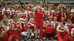 Ferrari-Team GP Singapur