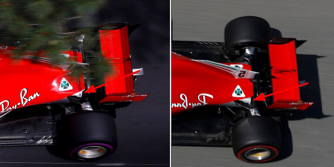 Ferrari - Technik - GP Monaco 2018
