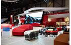 Ferrari Tuch, Genfer Autosalon, Messe 2014