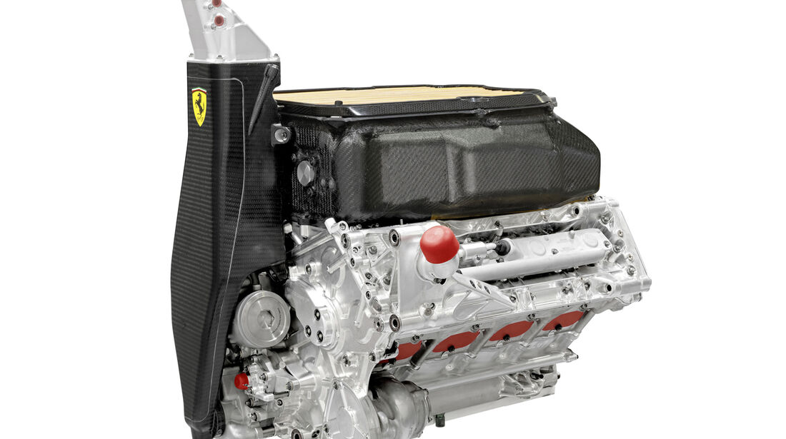 Ferrari V8 F1 Motor 2013