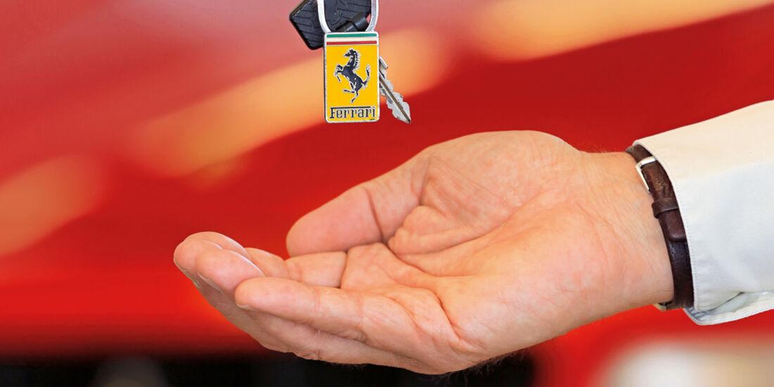 Ferrari, Zündschlüssel