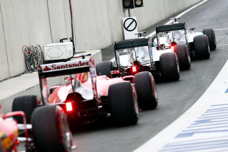 Ferrari-Speed von Reifen abhängig: Auf Soft so schnell wie Mercedes