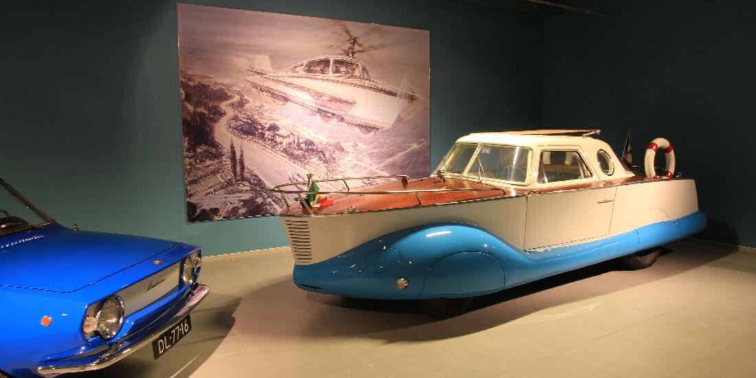 Fiat 1100 Boat Car